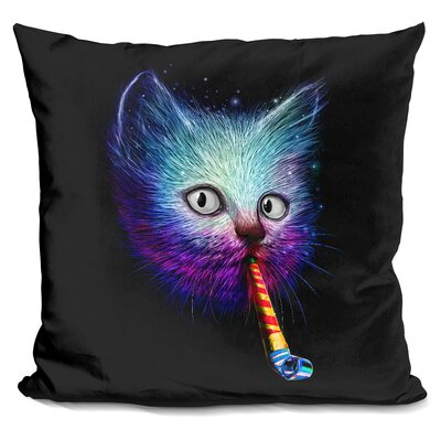 Slurp Party Throw Pillow