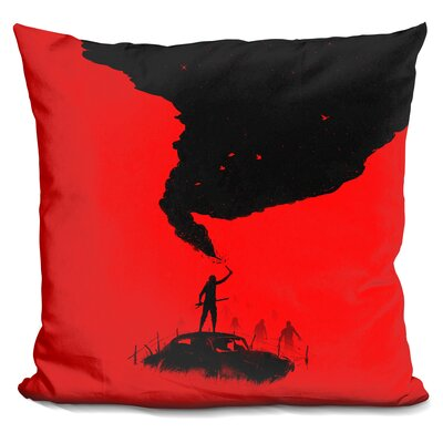 Sos Throw Pillow