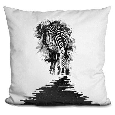 Stripe Charging Throw Pillow
