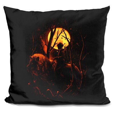 The Hunter Throw Pillow