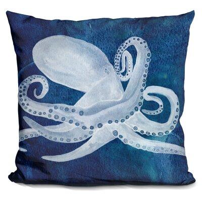Buschwick Cephalopod Throw Pillow