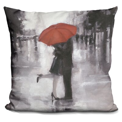 Gillispie Caught in The Rain Throw Pillow