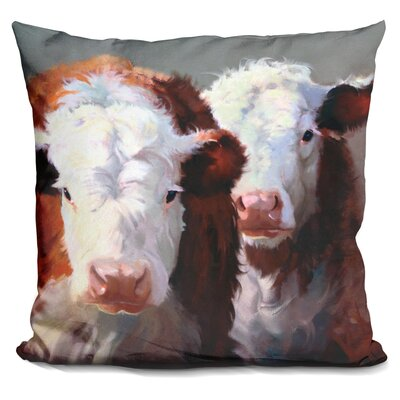 Loughlin Buddies Throw Pillow