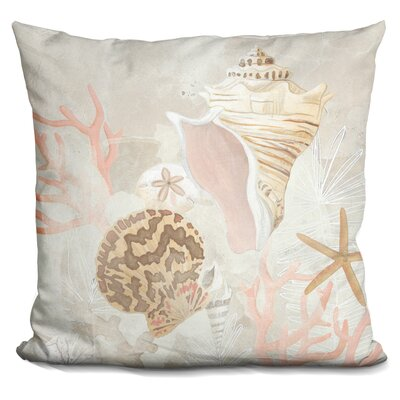 Callender Shell Collector Fresco Throw Pillow