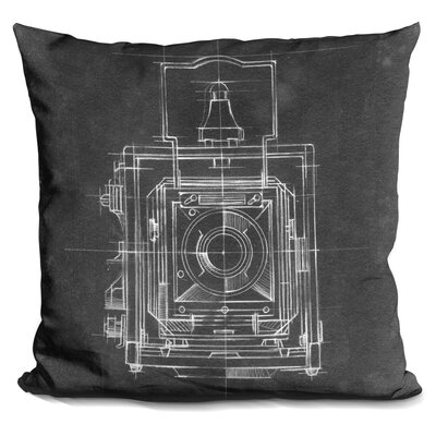 Chaidez Camera Prints Throw Pillow