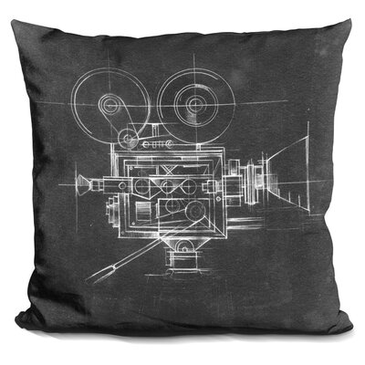 Chaim Camera Prints Throw Pillow