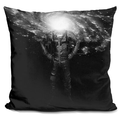 Mr Galaxy Throw Pillow