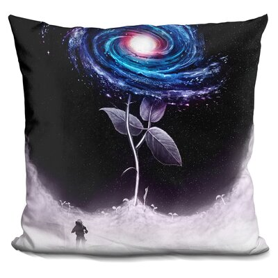 My Little Flower Throw Pillow