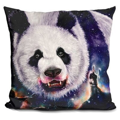 Nebula Eater Throw Pillow