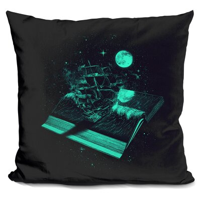 Crossing the Rough Sea of Knowl Throw Pillow