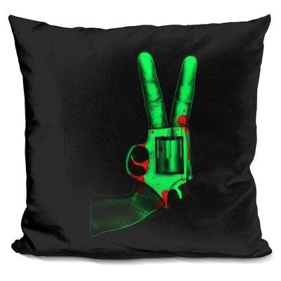 Peace Bang Throw Pillow