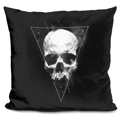 We Are All Made of Stars Throw Pillow Color: White