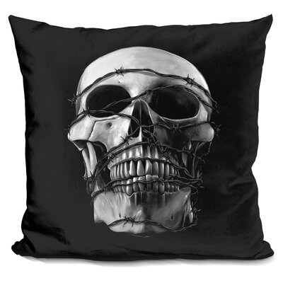 Prisoner Throw Pillow Color: Black