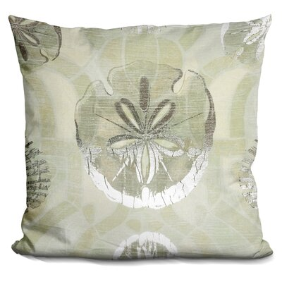 Burrus Metallic Shell Tiles Throw Pillow