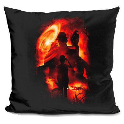 Reporting for Duty Throw Pillow