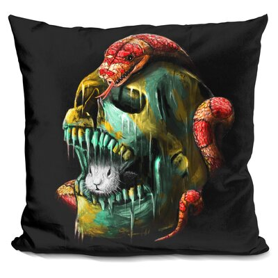 Fear and Desire Throw Pillow