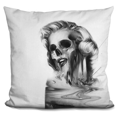 Marilyn Portrait Throw Pillow