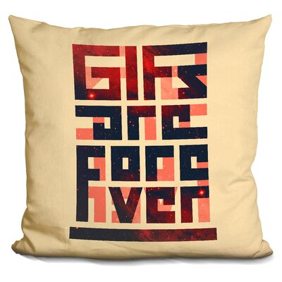 Gifs Are Forever Throw Pillow