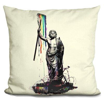 God of Graffiti Throw Pillow