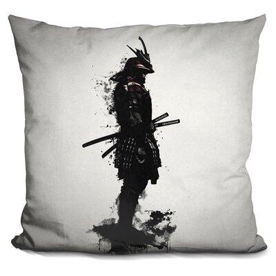 Armo Samurai Throw Pillow