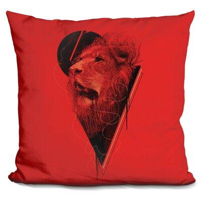 Hunger Strike Throw Pillow