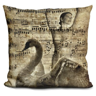 Gillis Swan Lake Throw Pillow