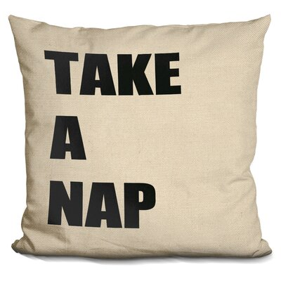Pellston Take a Nap Throw Pillow