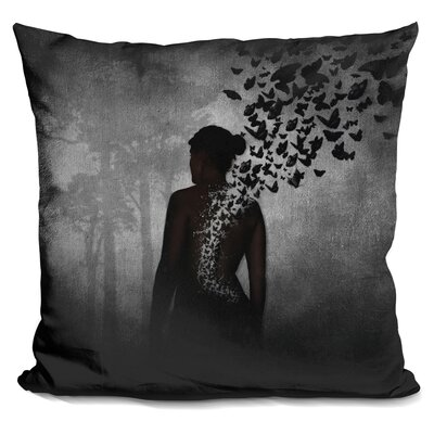 Peltier the Butterfly Transformation Throw Pillow