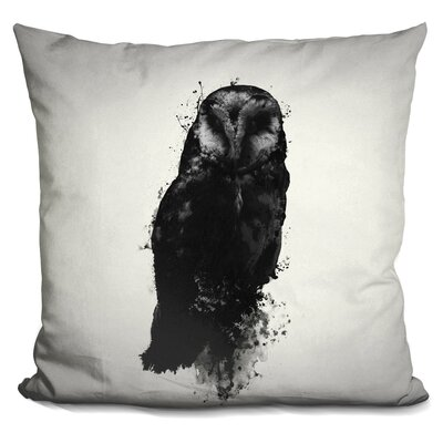 Peltz the Owl Throw Pillow