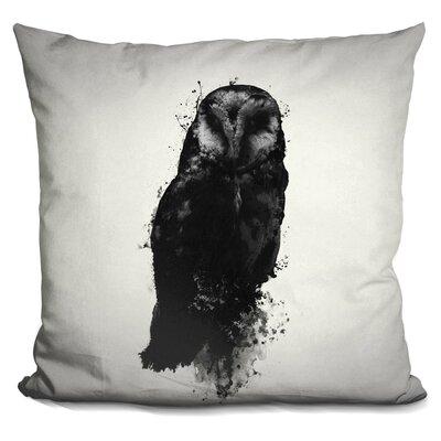 Peltz the Owl Throw Pillow