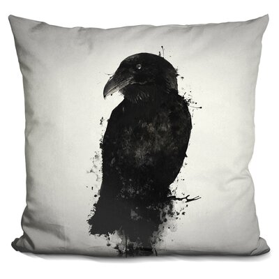 Peluso the Raven Throw Pillow