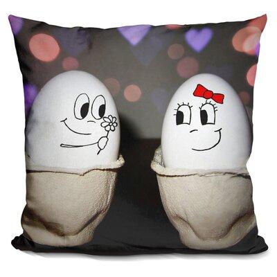 Egg Love Throw Pillow