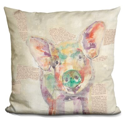 Farm Collage I Throw Pillow