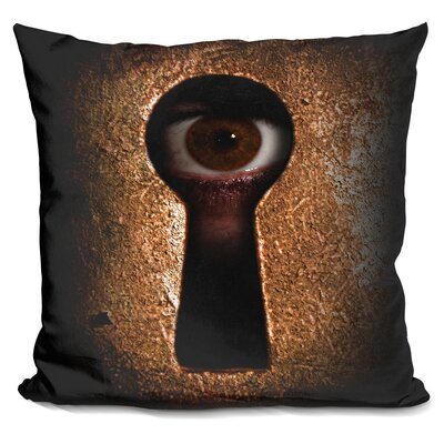Who is Watching You Throw Pillow