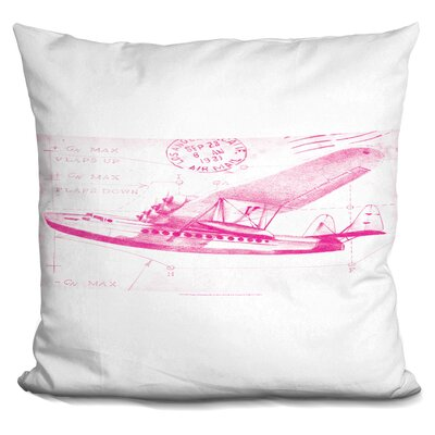 Pedersen Flight Schematic Throw Pillow