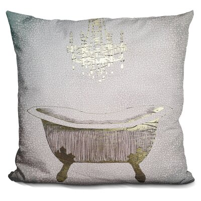 Ingrassia Gilded Bath Throw Pillow