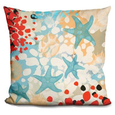 Campas Exotic Sea Life Throw Pillow