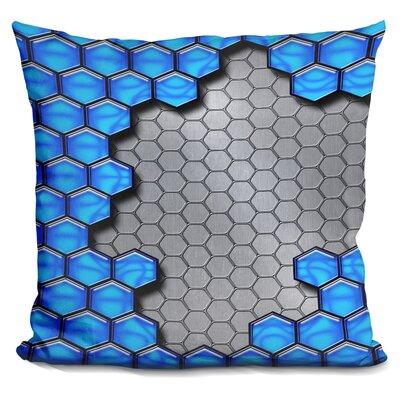 Metallic Scale Throw Pillow