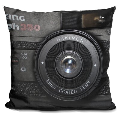 Marshal Camera Throw Pillow