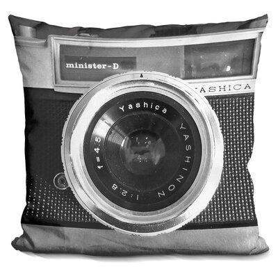 Marshal Camera Throw Pillow