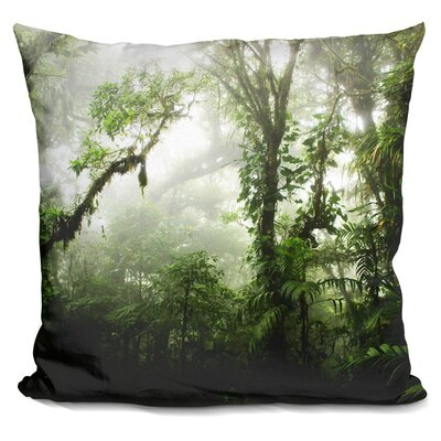 Marston Cloud Forest Throw Pillow