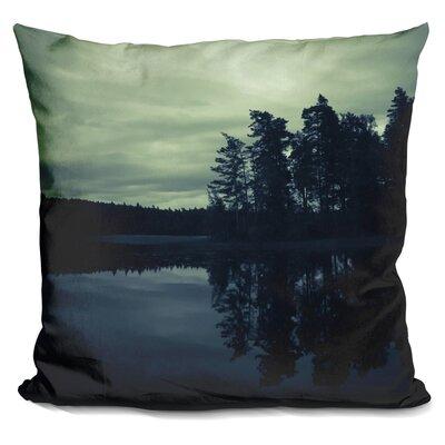 Lake By Night Throw Pillow