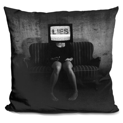 Lies Throw Pillow
