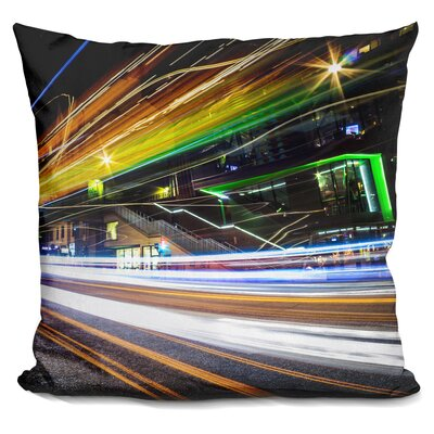 Light Trails II Throw Pillow
