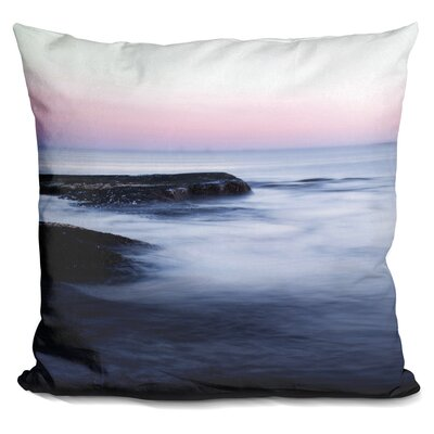 Misty Sea Throw Pillow