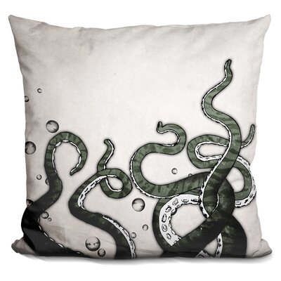 Bucher Octopus Tentacles Throw Pillow