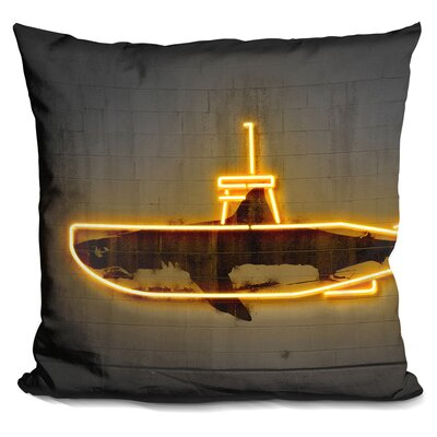 Dup Park Throw Pillow