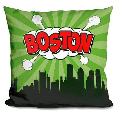 Cordray Boston Throw Pillow