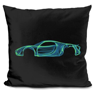 Porsche 918D Throw Pillow