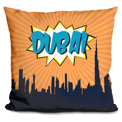 Dubai Throw Pillow